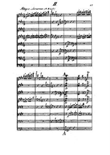 Streichoktett in A-Dur, Op.3: Teil II by Johan Svendsen