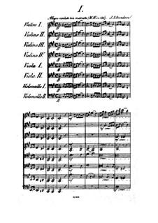 Streichoktett in A-Dur, Op.3: Teil I by Johan Svendsen