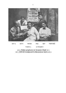 Sinfonietta: Partitur by Benjamin (Veniamïn) Khaèt