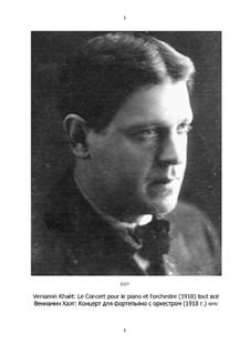 Konzert für Klavier und Orchester: Stimmen by Benjamin (Veniamïn) Khaèt