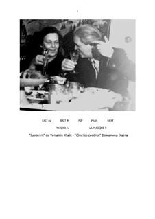 Jupiter lacht (Partitur und Partei): Jupiter lacht (Partitur und Partei) by Benjamin (Veniamïn) Khaèt