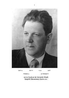 Quartett (Partitur und Partei): Quartett (Partitur und Partei) by Benjamin (Veniamïn) Khaèt