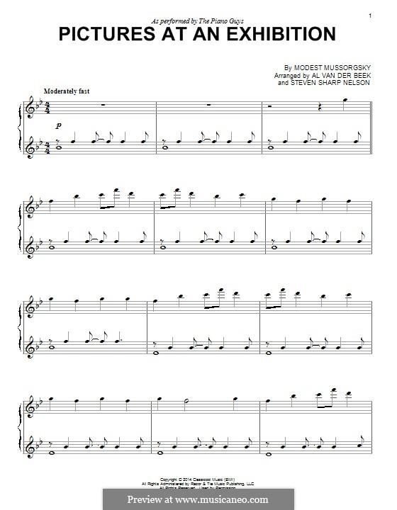 Promenade I: Für Klavier by Modest Mussorgski