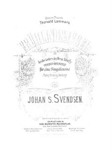 Zwei Romanzen für Stimme und Klavier, Op.25: Nr.2 Frühlingsjubel by Johan Svendsen