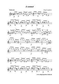 Sonett, Op.6: Sonett by Oleg Kopenkov