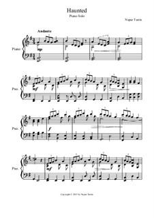 Haunted: A Piano Solo: Haunted: A Piano Solo by Nupur Tustin