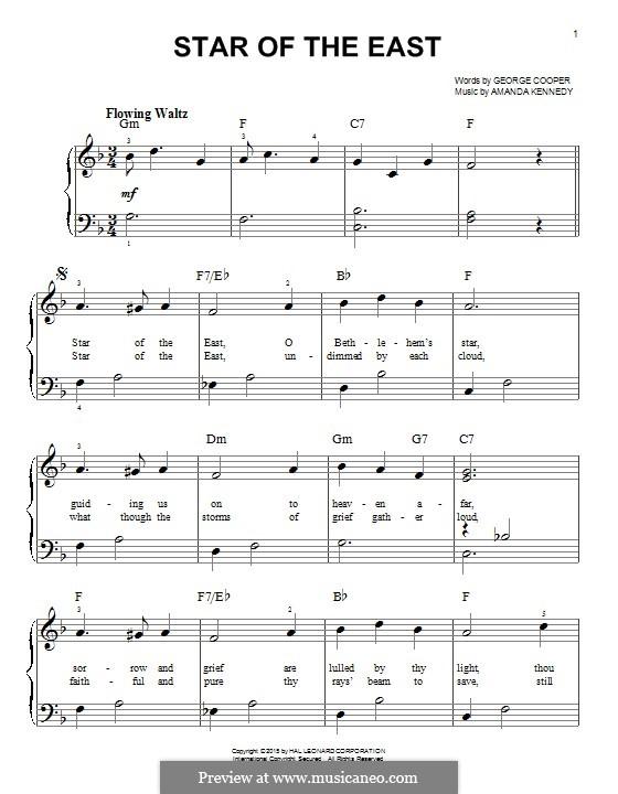 Star of the East: Für Klavier by Amanda Kennedy