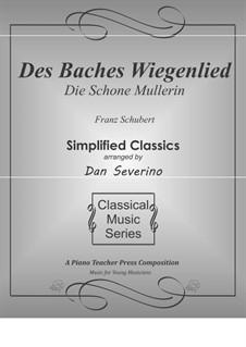 Nr.20 Des Baches Wiegenlied: Für Klavier by Franz Schubert