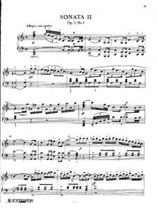Drei Sonaten für Klavier, Op.9: Nr.2 in C-Dur, Craw 58 by Jan Ladislav Dussek