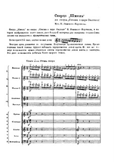 Das Märchen vom Zaren Saltan. Oper: Hummelflug by Nikolai Rimsky-Korsakov