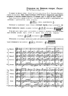 Sadko. Opera: Fragment from Finale by Nikolai Rimsky-Korsakov