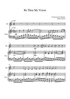 Be Thou My Vision: Partitur für zwei Interpreten by folklore