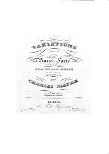Variationen über ein russische Arie Nr.2, Op.41: Variationen über ein russische Arie Nr.2 by Charles Mayer