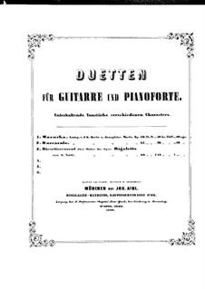 Divertissement über Thema aus 'Rigoletto' von Verdi, Op.60: Stimmen by Johann Kaspar Mertz
