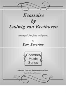 Écossaise in G-Dur, WoO 23: Für Flöte und Piano by Ludwig van Beethoven