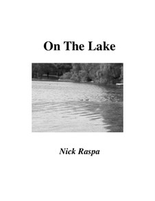 On The Lake: Score, parts by Nick Raspa