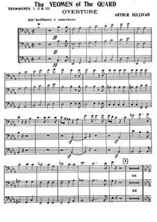 The Yeomen of the Guard: Posaunenstimme by Arthur Sullivan