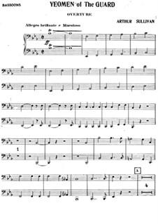 The Yeomen of the Guard: Fagottenstimme by Arthur Sullivan