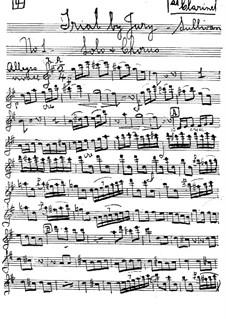 Schwurgericht: Klarinettenstimmen by Arthur Sullivan