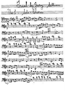 Schwurgericht: Fagottstimme by Arthur Sullivan