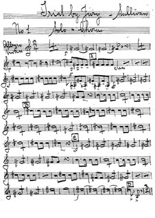 Schwurgericht: Hornstimme by Arthur Sullivan