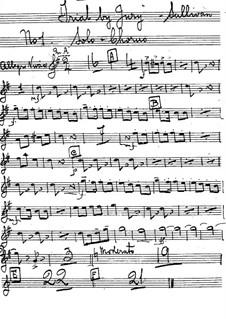 Schwurgericht: Kornettenstimmen by Arthur Sullivan