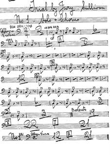 Schwurgericht: Schlagzeugstimmen by Arthur Sullivan