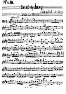 Schwurgericht: Violinstimme by Arthur Sullivan
