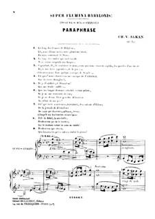 Super flumina Babylonis, Op.52: Super flumina Babylonis by Charles-Valentin Alkan