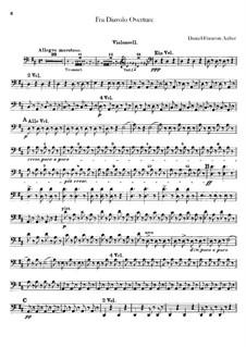 Ouvertüre: Cellostimme by Daniel Auber