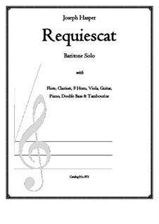 Requiescat: Requiescat by Joseph Hasper