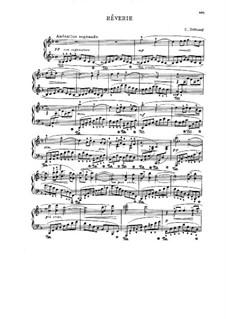 Rêverie, L.68: Für Klavier by Claude Debussy