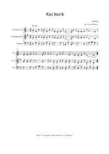 Kuckuck: Trio Trompete, Trompete, Posaune, Op.03012 by folklore