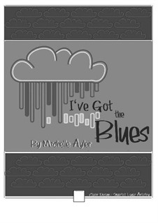 I've Got the Blues (Late Beginner Piano Solo): I've Got the Blues (Late Beginner Piano Solo) by MEA Music