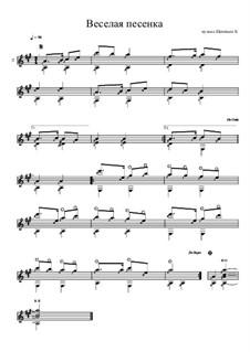 Веселая песенка: Веселая песенка by Konstantin Schenitsyn