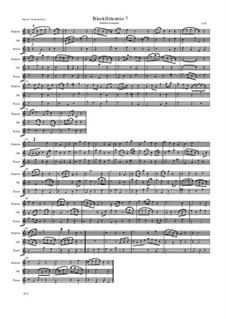 Blockflötentrio 7: Blockflötentrio 7 by Friedrich Gross