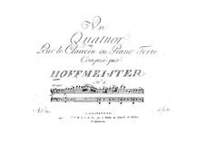 Klavierquartett Nr.2 in G-Dur: Klavierstimme by Franz Anton Hoffmeister