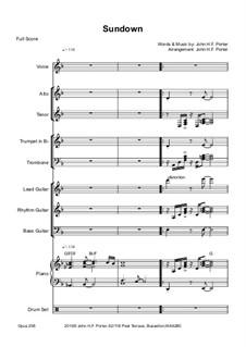 Sundown, Op.258: Sundown by JHFP