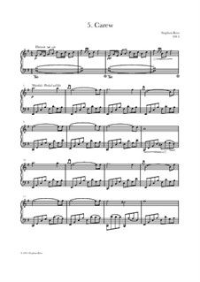 Heartlands - Seven Pieces for Piano: No.5 Carew by Stephen Rees, Jenny Rees