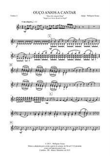 Angels We Have Heard on High: Streichquartett by Unknown (works before 1850)