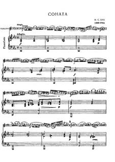 Sonate für Violine und Basso Continuo in c-Moll, BWV 1024: Sonate für Violine und Basso Continuo in c-Moll by Johann Sebastian Bach