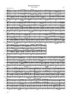 Konzert-Walzer 2 - 15: Konzert-Walzer 2 - 15 by Friedrich Gross