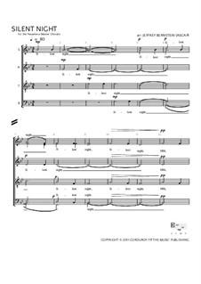 Stille Nacht (Noten zum Download): Für gemischten Chor by Franz Xaver Gruber