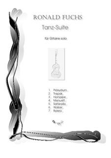 Tanz-Suite für Gitarre solo: Nr.4 Menuett by Ronald Fuchs