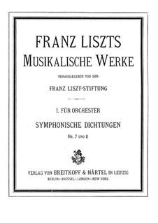 Symphonische Dichtung Nr.7 'Festklänge' für Orchester, S.101: Vollpartitur by Franz Liszt