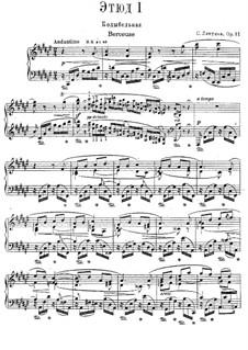 Zwölf transzendentale Etüden, Op.11: Nr.1 Wiegenlied by Sergei Lyapunov