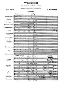 Werther: Akt I by Jules Massenet