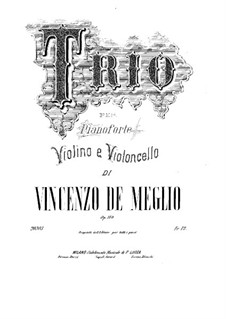 Klaviertrio in C-Dur, Op.140: Vollpartitur by Vincenzo de Meglio