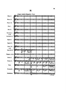 Sinfonie Nr.2 'Die vier Temperamente', FS 29 Op.16: Teil II by Carl Nielsen