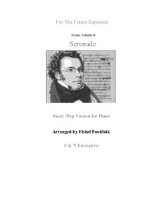 Nr.4 Ständchen: Pop/jazz version, for piano by Franz Schubert